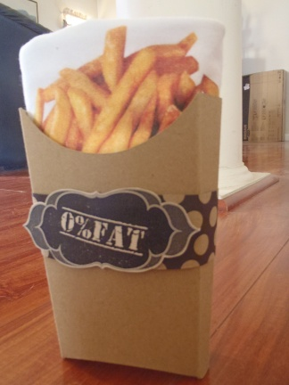 Wan Ling Chao, 0% Fat Designs, French Fries T-Shirt and Packaging