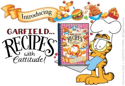 Garfield Cook book