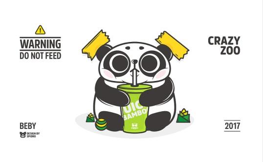 crazy zoo panda