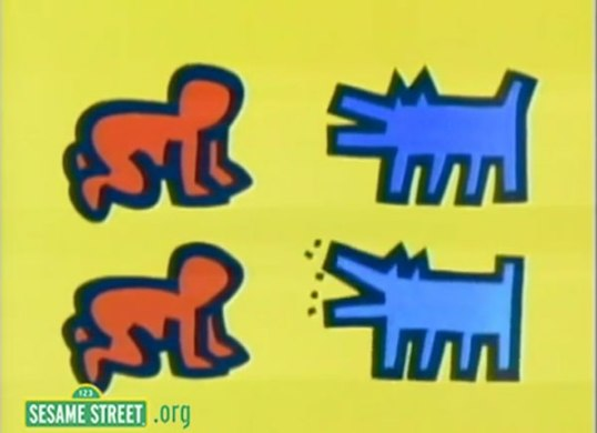 Keith_Haring_Sesame_Street